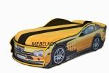 Кроватка машина Mebelkon (Мебелькон) Мерседес 150*70, цвета в ассорт.