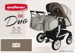 Универсальная коляска для двойни AdborR Duo stars, цвета в ассорт.