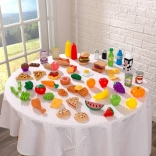 Игровой набор Продукты и еда (65 предм) KidKraft, 63510
