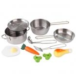 Игровой набор метал посуды с аксесс. KidKraft, 63186