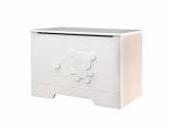 Ящик для игрушек Mybaby BEE&BEARS; ваниль