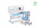 Комплект Evo-kids дерево (стол+ящик+надстройка+кресло) Evo-50, цвета в ассорт.