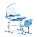 Комплект Evo-kids Evo-17 (стул+стол+полка+лампа) с лампой, цвета в ассорт.