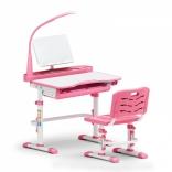Комплект Evo-kids Evo-18 (стул+стол+полка+лампа) с лампой, цвета в ассорт.