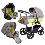 Детская коляска Zekiwa TRIset 3 в 1, цвета в ассорт.