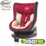 Автокресло 4Baby Roll-fix с Iso-fix и системой поворота сидения на 360С, цвета в ассорт.