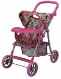 Прогулочная коляска для куклы (с бампером) Todsy