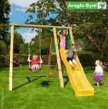 Детская качеля с горкой Jungle Gym Peak, 401_300