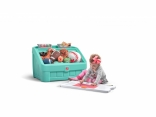 Комод для игрушек и поверхность для творчества