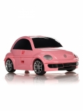 Чемодан машинка Ridaz Volkswagen Beetle, 91003W-PINK