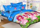 Детское постельное белье Tag Шарлотта Земляничка 150х220
