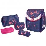 Школьный ранец с наполнением Herlitz Flexi Plus Butterfly Dreams, 37114
