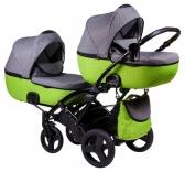 Детская коляска для двойни Tako Jumper Duo, в ассорт.