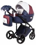 Детская коляска 2 в 1 Adamex Luciano, цвета в ассорт.