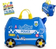 Детский чемодан-каталка Trunki Police, TRU-0323