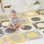 Детский игровой коврик Skip Hop (Скип Хоп) Play spot grey/gold