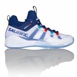 Мужские кроссовки Salming Kobra Mid 2 Men White/Blue, размеры в ассорт.
