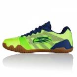 Мужские кроссовки Salming Hawk Men Green/Blue, размеры в ассорт.