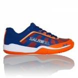 Мужские кроссовки Salming Falco Men Blue/Orange, размеры в ассорт.