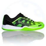 Подростковые кроссовки Salming Falco Junior Green/Black, размеры в ассорт.