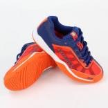 Подростковые кроссовки Salming Falco Kid Blue/Orange, размеры в ассорт.
