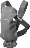 Рюкзак-переноска BabyBjorn Carrier Mini (Dark grey 3D, Jersey), 21084