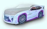Кроватка-машина Mebelkon Lexus (Лексус) 80*170