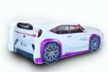Кроватка-машина Mebelkon Lexus (Лексус) 80*180