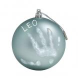 Рождественский шар для создания отпечатков Baby Art 11 см Голубая Жемчужина, 34120157