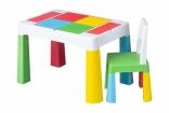 Комплект детской мебели Tega Baby MULTIFUN (стол + стульчик), цвета в ассорт.