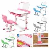 Комплект Evo-kids Evo-19 (стул+стол+полка) с лампой, цвета в ассорт.