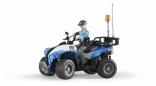Детская машина Bruder Полицейский квадроцикл + фигурка женщина-полисмен, 63010
