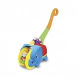 Іграшка-каталка - СЛОН-ЦИРКАЧ (світло, озвуч. укр. мовою), 058297