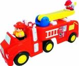 Развивающая игрушка Kiddieland ПОЖАРНАЯ МАШИНА (механическая, свет, звук), 43265