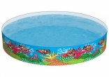 Наливной бассейн Bestway Рыбки 244х46 см (55031)