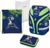 Ранец школьный с наполнением Herlitz Motion Plus Kick It Футбол, 50020379