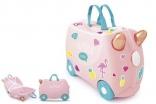Детский чемодан Trunki Flossi Flamingo Розовый TRU-0353