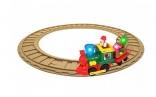Игровой набор с железной дорогой Kiddieland РОЖДЕСТВЕНСКИЙ ЭКСПРЕСС (свет, звук)