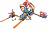 Трек Хот вилс Вулкан 4 в 1 и 10 машинок Hot Wheels City Volcano Track Set, FTL86