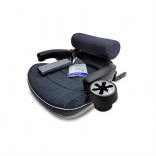 Автокресло Welldon Travel Pad IsoFix, цвета в ассорт.