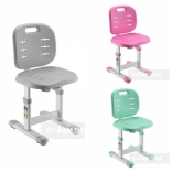 Детский стул Fundesk SST2 Grey, Pink, Green