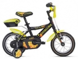 Велосипед Bottecchia 12 BOY COASTERBRAKE, черн с желтым