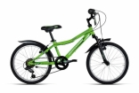 Велосипед Bottecchia 20 MTB 6S BOY, зеленый