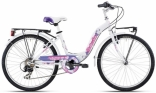 Велосипед Bottecchia 24 CTB GIRL 6S, бело/фиолет