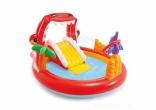 Детский надувной игровой центр с горкой Дино Intex 57163