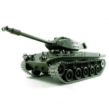 Танк на радиоуправлении 1:16 Heng Long Bulldog M41A3 с пневмопушкой и и/к боем (Upgrade)