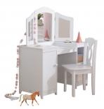 Детский туалетный столик Deluxe Vanity and Chair Kidkraft 13018