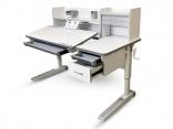 Детский стол Mealux Sherwood XL с надстройкой и ящиком, BD-860 Max