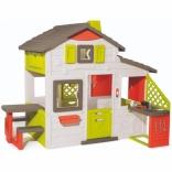 Будинок для друзів Smoby з літньою кухнею, дверним дзвінком та столиком