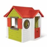 Будинок лісника Smoby зі ставнями та круглими вікнами
